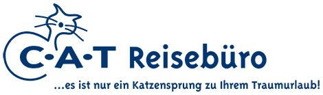 Logo des CAT Reisebüros